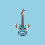 guitar mascot