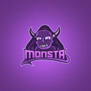 monsta logo mascot